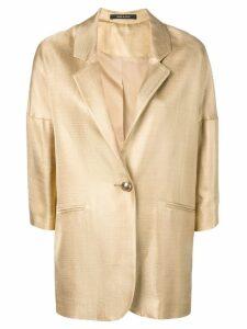 Tagliatore oversized blazer - Gold