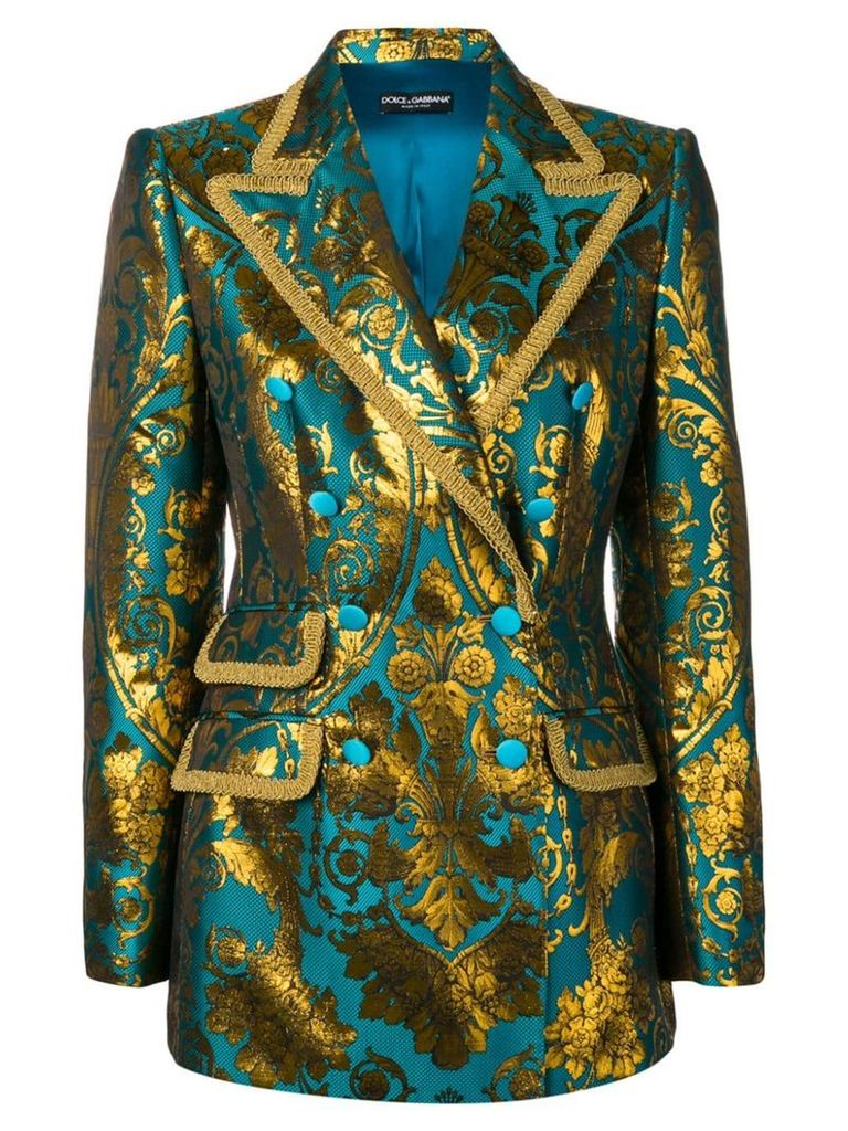 Dolce & Gabbana double-breasted Turlington blazer - Blue