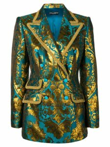Dolce & Gabbana double-breasted Turlington blazer - Blue