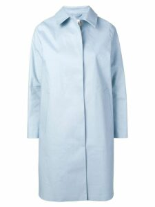 Mackintosh classic fitted trench coat - Blue
