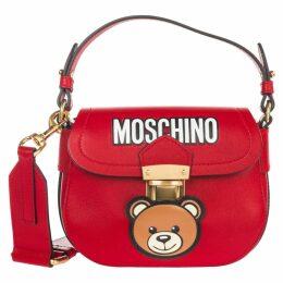 Moschino Leather Cross-body Messenger Shoulder Bag Teddy