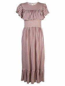 Baum Und Pferdgarten Jannie gingham dress - Red