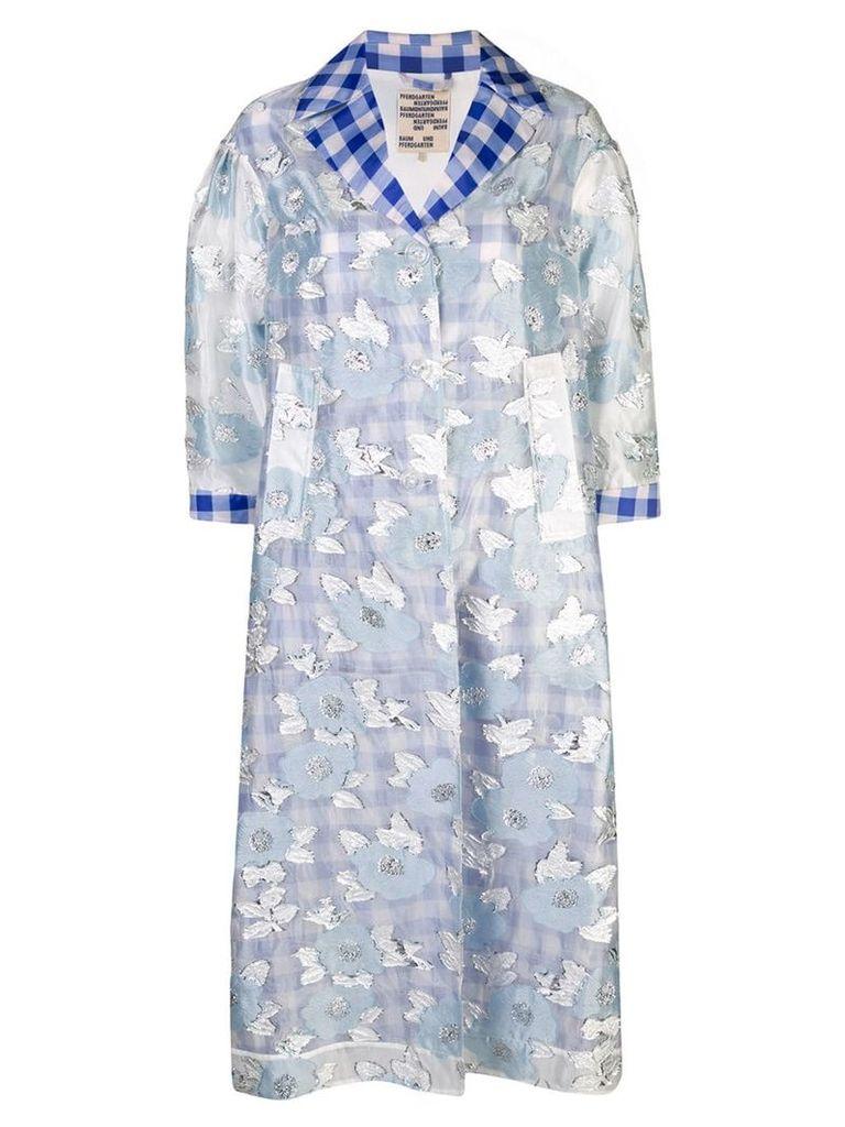Baum Und Pferdgarten Deborah shirt dress - Blue