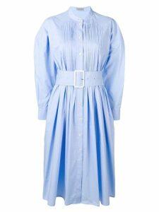 Bottega Veneta belted dress - Blue