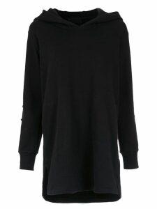 Andrea Bogosian hooded dress - Black