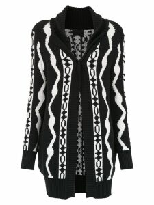 Andrea Bogosian knit cardi-coat - Black