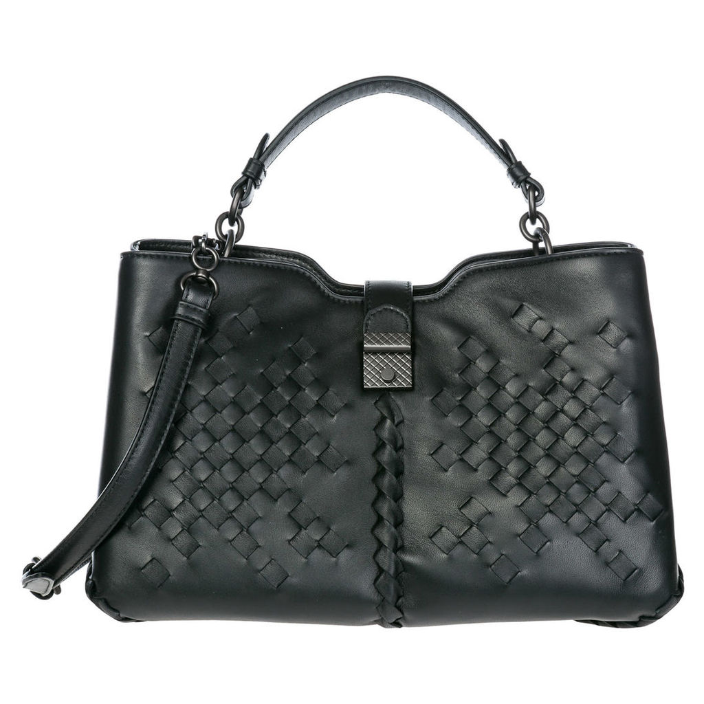 Bottega Veneta Leather Shoulder Bag Napoli