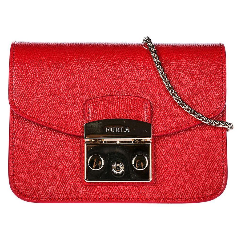 Furla Leather Cross-body Messenger Shoulder Bag Metropolis