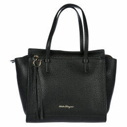 Salvatore Ferragamo Leather Shoulder Bag Tote