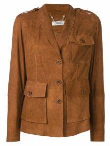 Desa 1972 patch pockets jacket - Brown