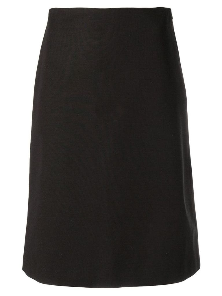 Theory midi straight skirt - Black