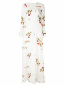 Macgraw Soiree floral print dress - White