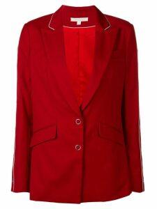 Jonathan Simkhai snap detail blazer - Red