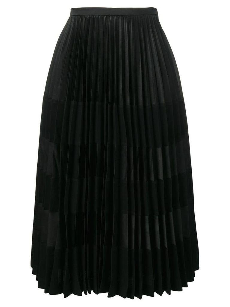 Comme Des Garçons Noir Kei Ninomiya pleated skirt - Black