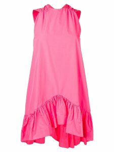 MSGM ruffled hem dress - Pink