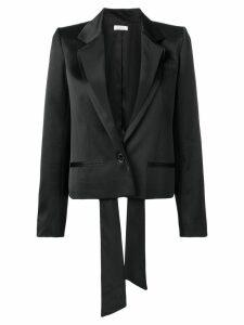Nina Ricci satin blazer - Black