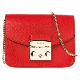 Furla Leather Cross-body Messenger Shoulder Bag Metropolis