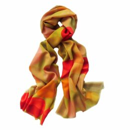 Claire Gaudion - Divette Ochre Scarf