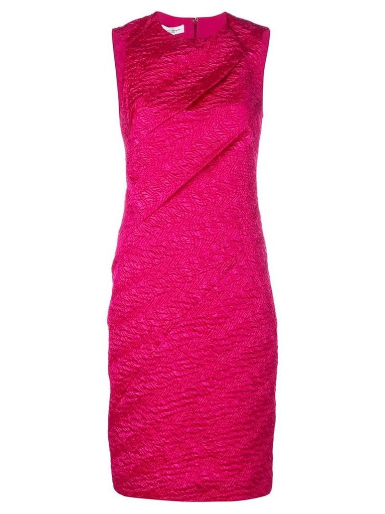 Narciso Rodriguez sleeveless fitted dress - Pink