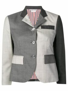 Thom Browne Fun-Mix Twill Sport Coat - Grey