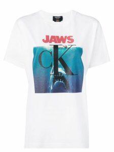 Calvin Klein 205W39nyc Jaws logo T-shirt - White