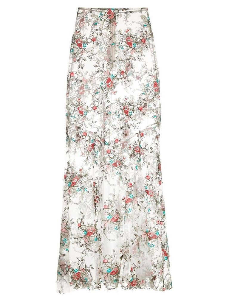 Macgraw Dorathea embroidered skirt - Multicolour