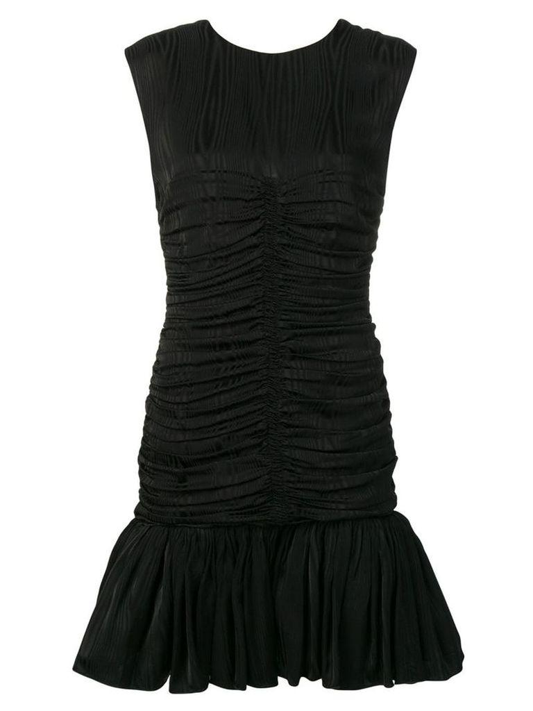 MSGM draped effect dress - Black