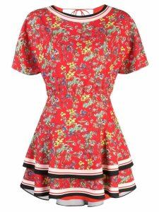 Alice+Olivia Palmira dress - Red