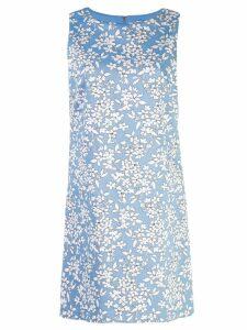 Alice+Olivia Clyde Aline dress - Blue