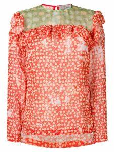 Preen By Thornton Bregazzi darla blouse - Red