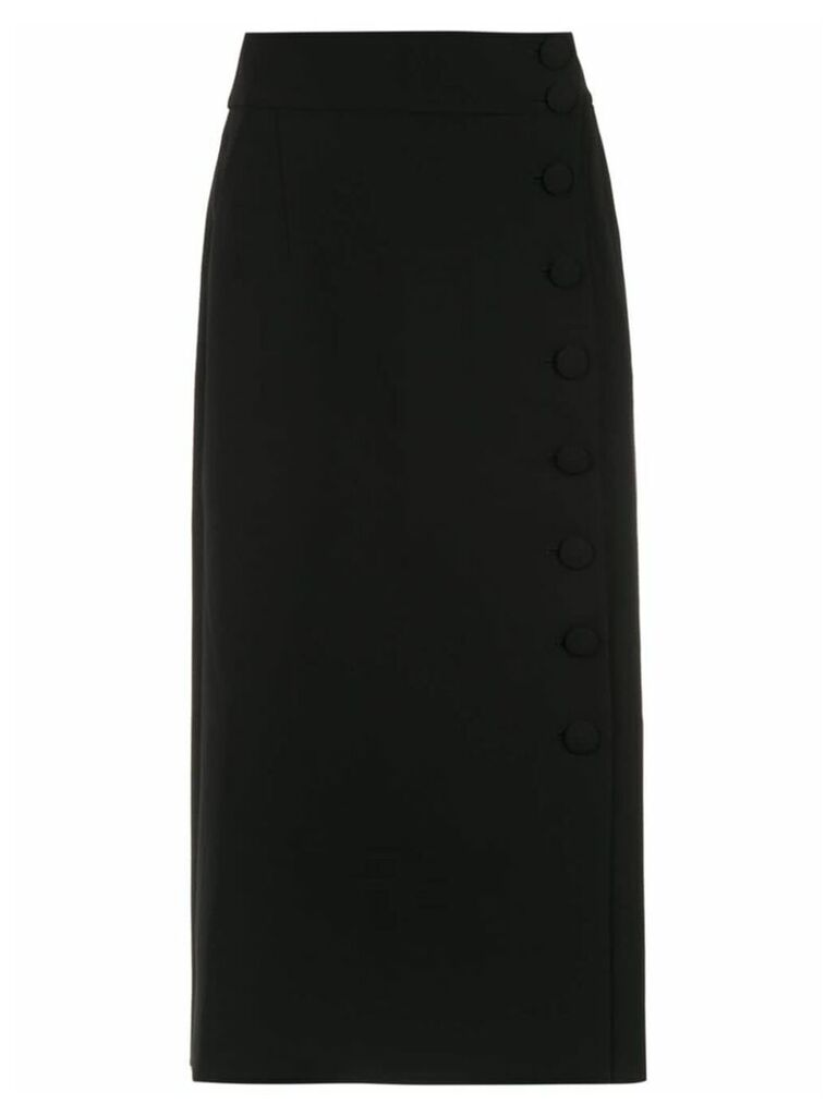Egrey midi skirt - Black