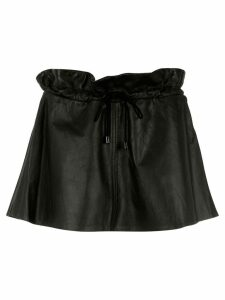 Andrea Bogosian leather skirt - Black