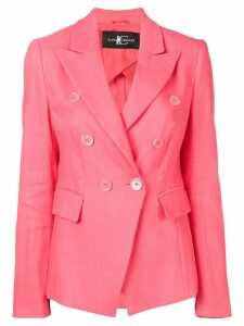 Luisa Cerano double-breasted blazer - Pink