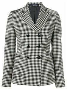 Tagliatore Janise checked blazer - Black