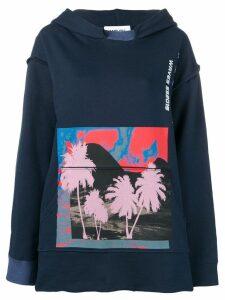 AMBUSH oversized hoodie - Blue