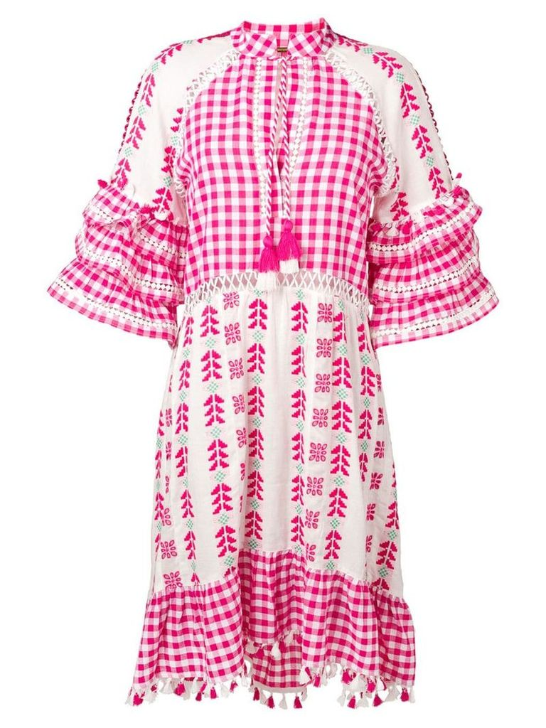 Dodo Bar Or embroidered summer dress - Pink