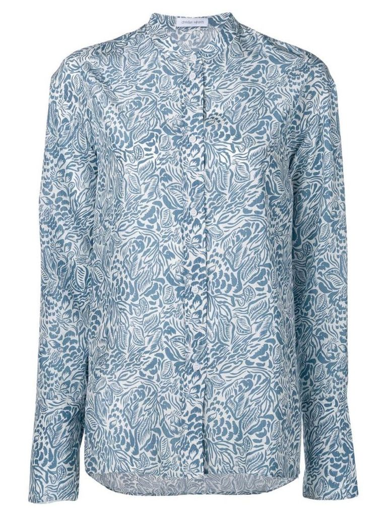 Christian Wijnants Tara shirt - Blue