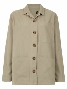 Osklen overzised shirt - Neutrals