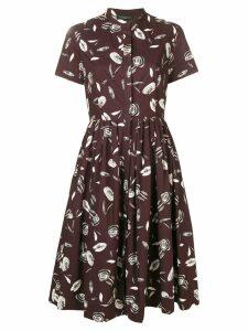 Antonelli Lorena shirt dress - Brown
