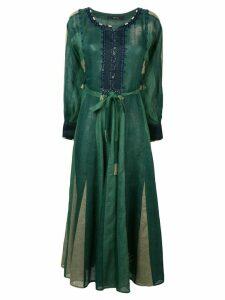 Vita Kin striped kaftan dress - Green