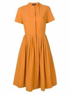 Antonelli Lorena shirt dress - Orange