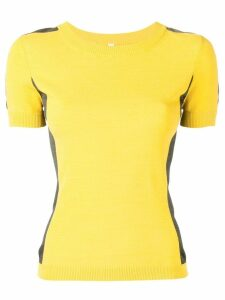 Antonio Marras fitted T-shirt - Yellow