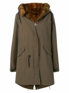 Liska parka with fur lining - Green