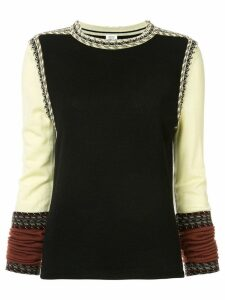 Rosie Assoulin crew neck jumper - Black