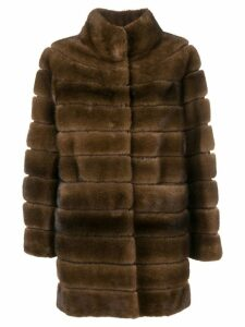 Liska Chayenna fur coat - Brown