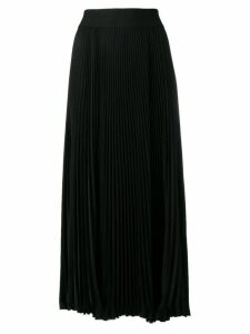 Poiret micro-pleated midi skirt - Black