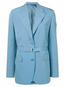 Christian Wijnants Jena belted blazer - Blue
