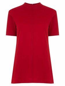 Osklen high neck t-shirt - Red