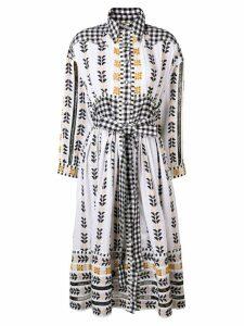 Dodo Bar Or embroidered summer dress - White