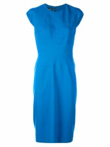 Narciso Rodriguez sleeveless midi dress - Blue